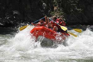 rafting in sun valley